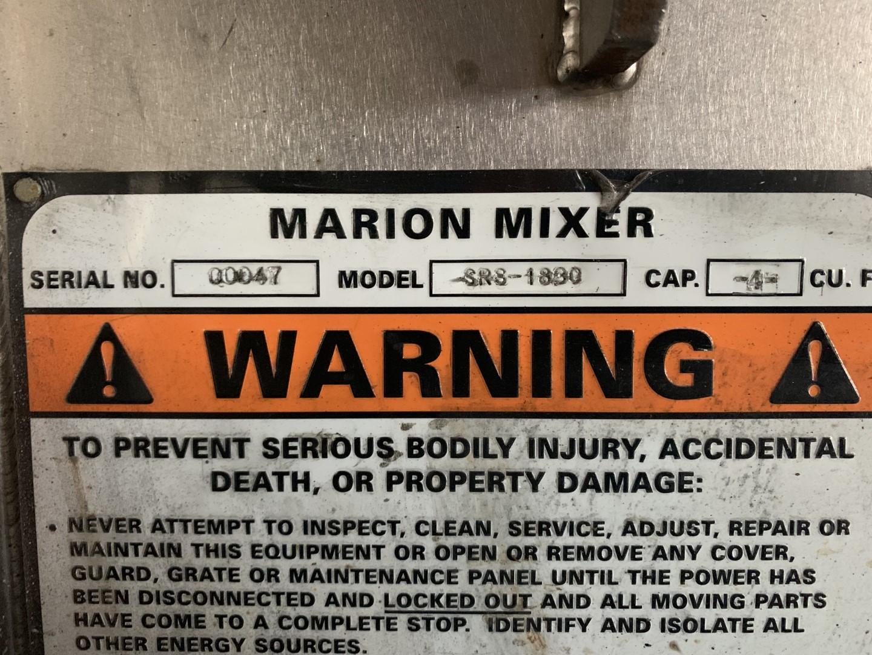 4 Cu Ft Marion Ribbon Blender, 304 S/S