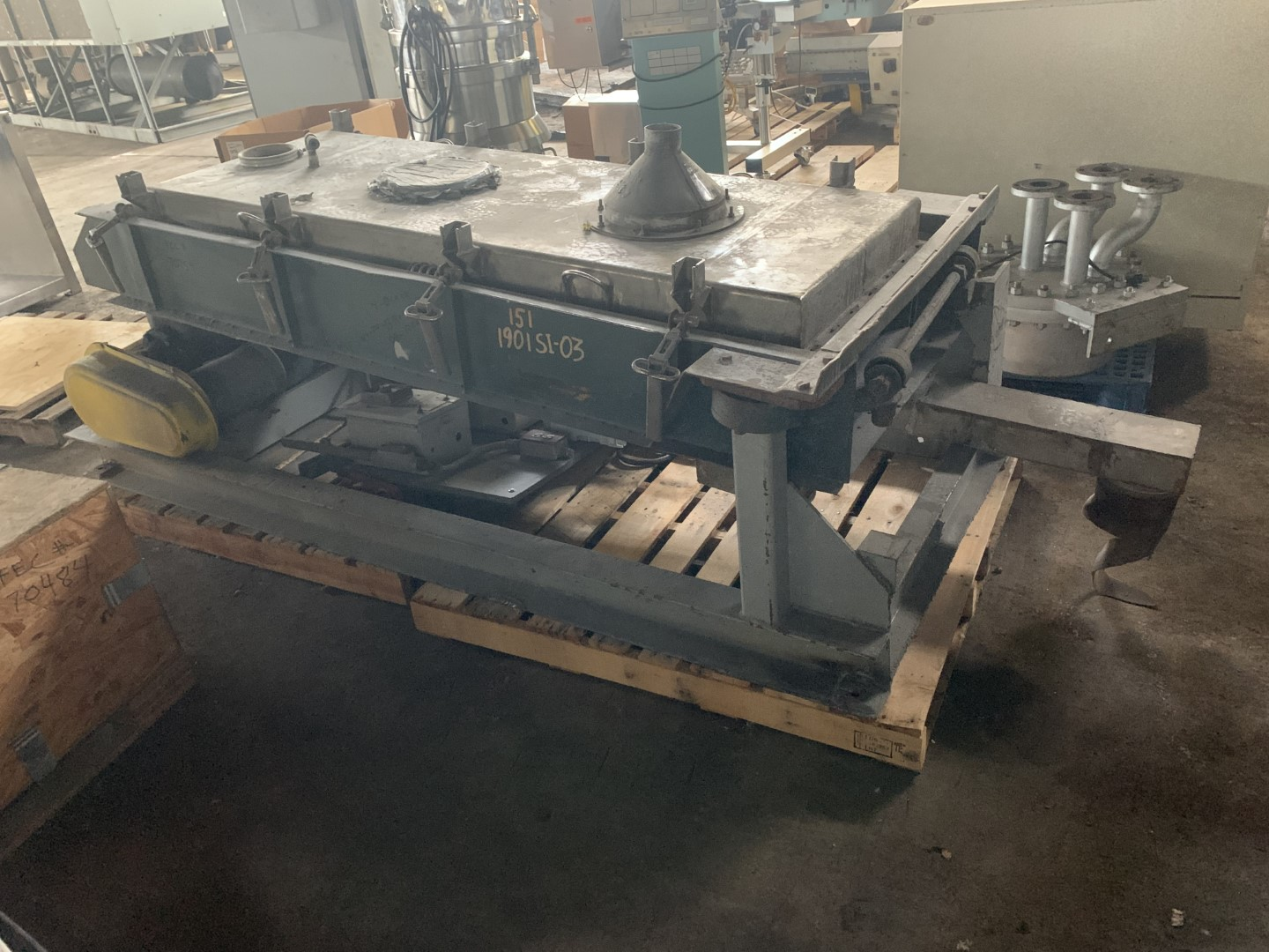 "30"" x 60"" Rotex Screener, Model 402A"