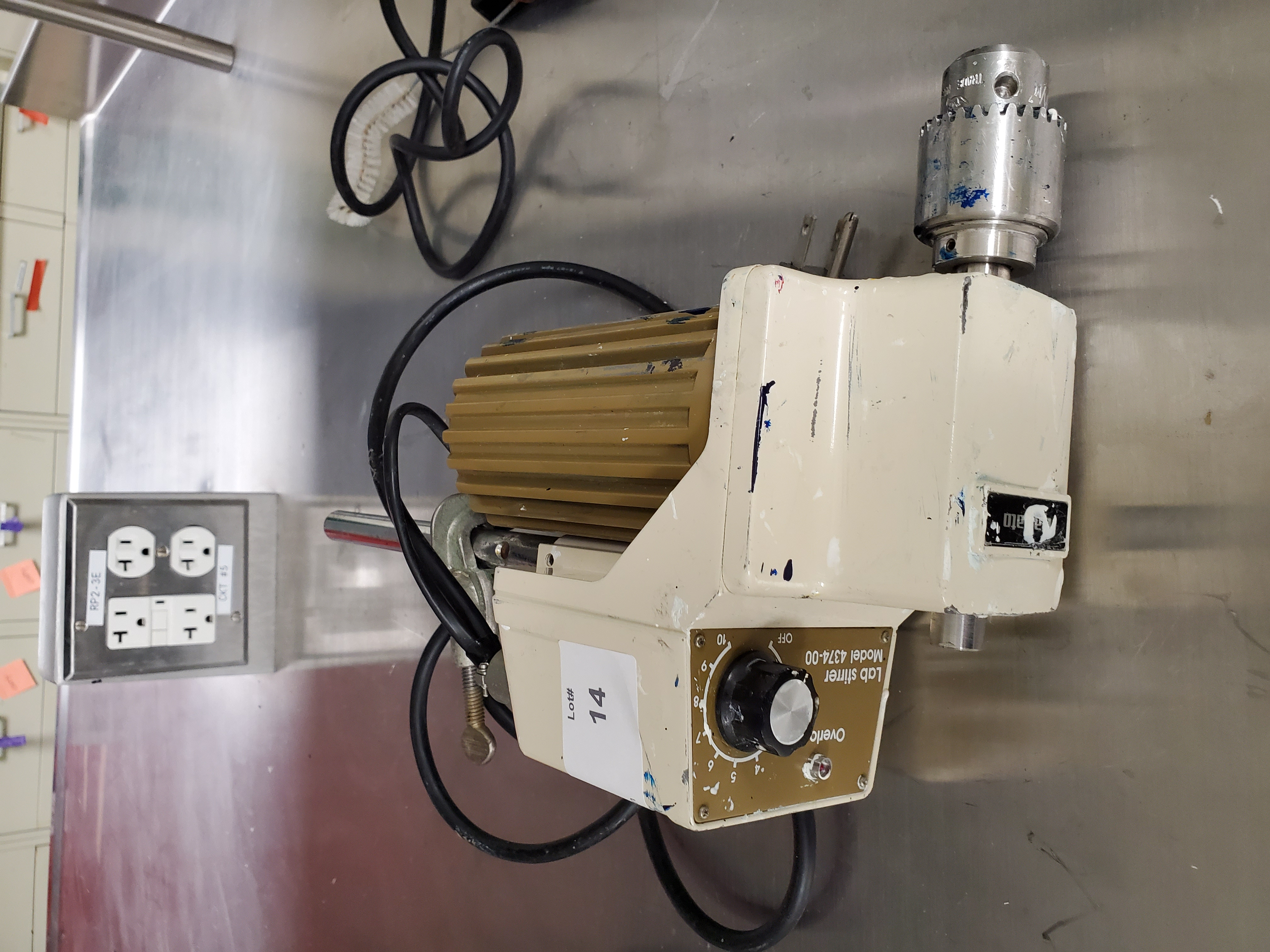Fisher Scientific StedFast Laboratory Stirrer, Model SL1200