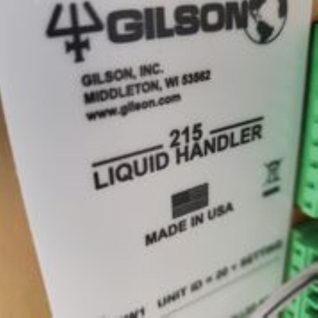 GE Ettan Spot Picker (Gilson 215 Liquid Handler) 2010